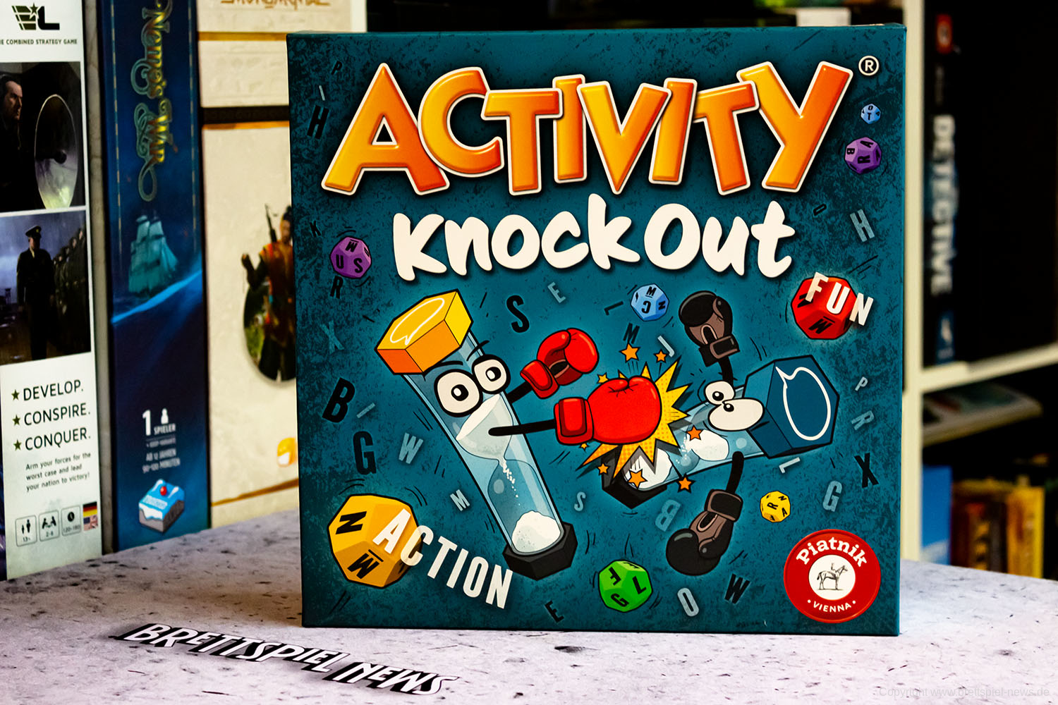 TEST // ACTIVITY KNOCKOUT
