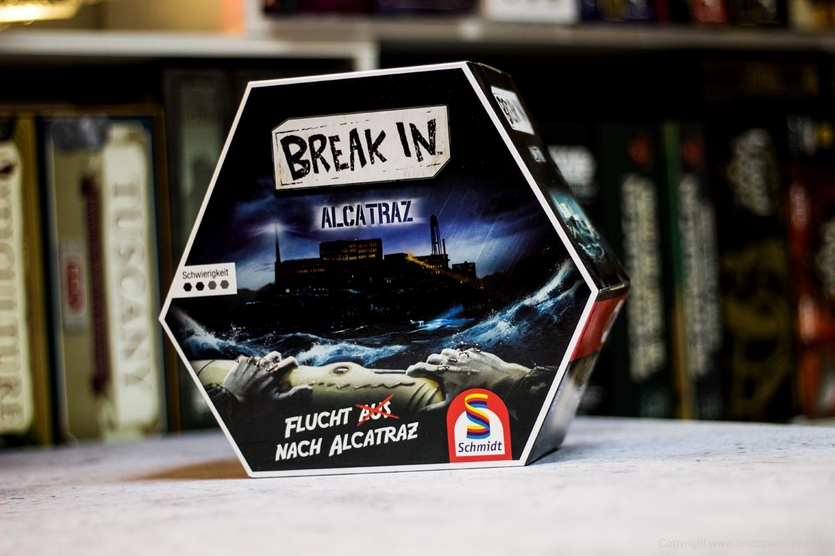 TEST // BREAK IN - ALCATRAZ