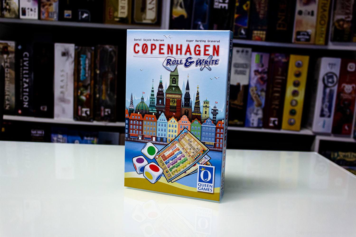 TEST // CØPENHAGEN - ROLL & WRITE