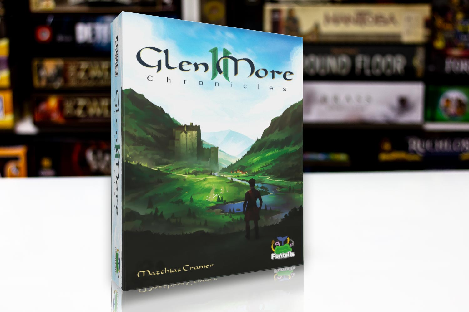 TEST // Glen More II: Chronicles Prototyp