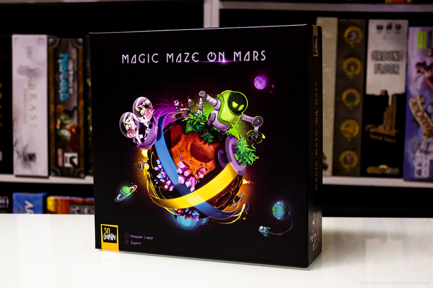 MAGIC MAZE ON MARS // Erste Bilder