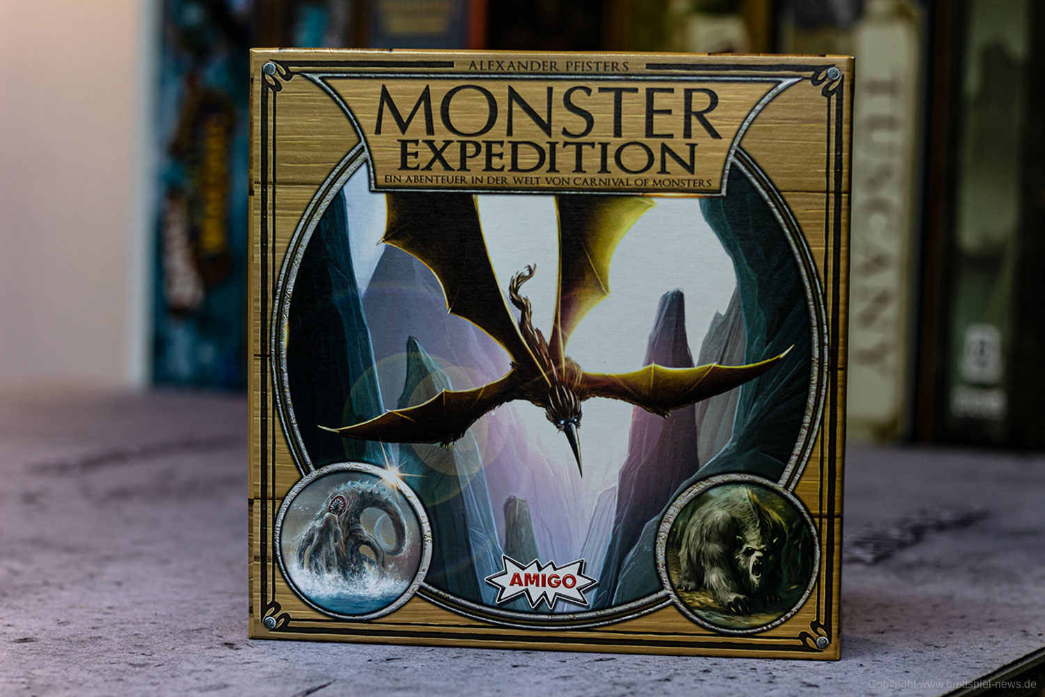 TEST // MONSTER EXPEDITION