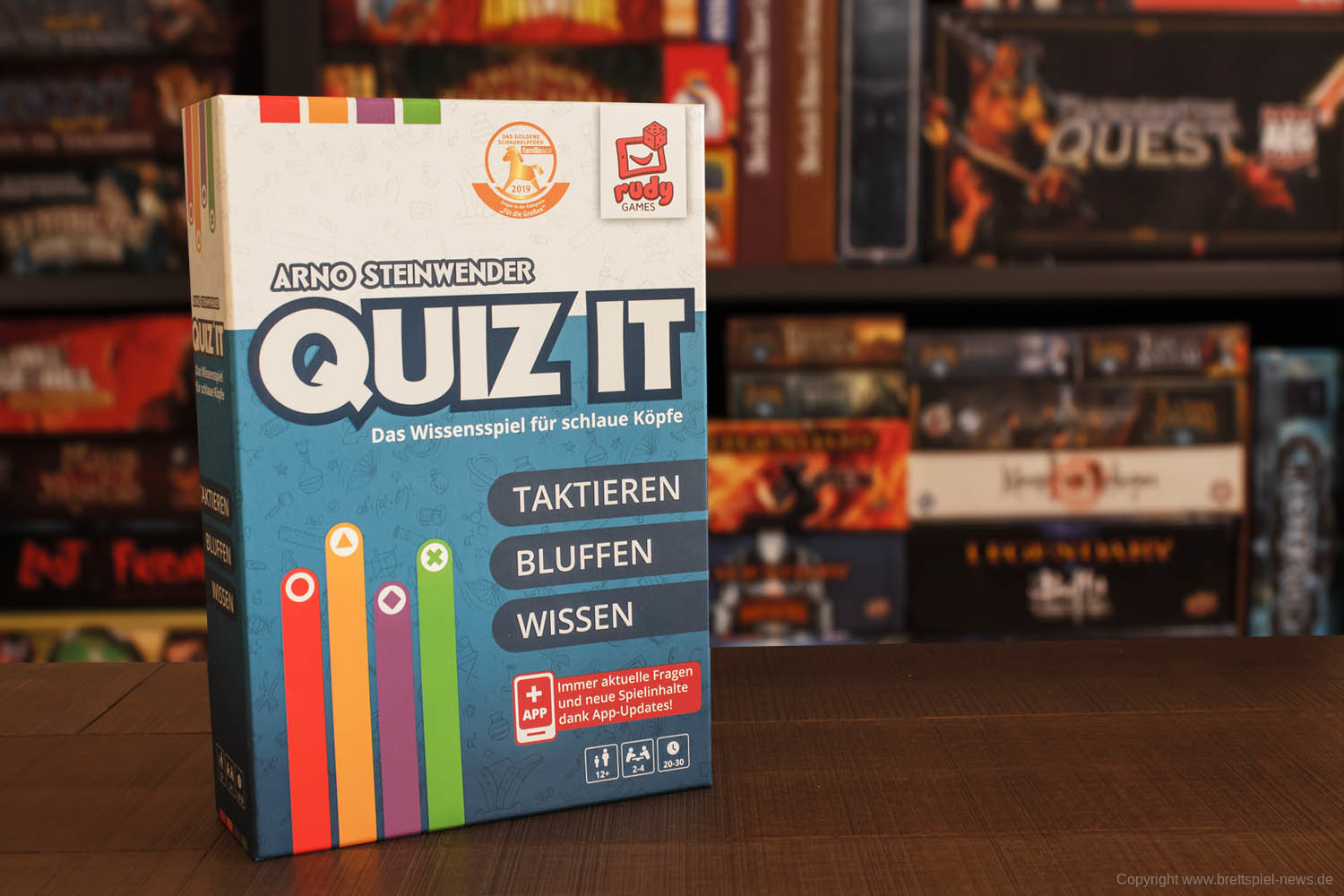 QUIZ IT // Bilder vom Spielmaterial