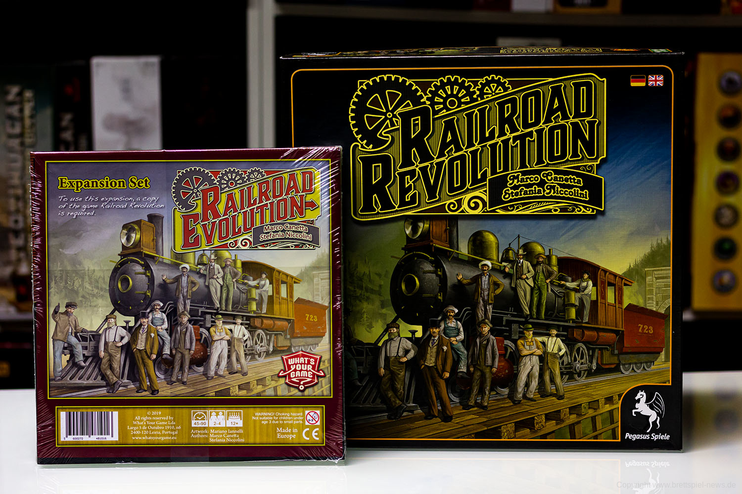 TEST // RAILROAD EVOLUTION