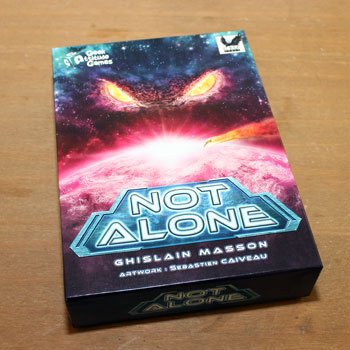 Test: Not Alone, Rezension, angespielt