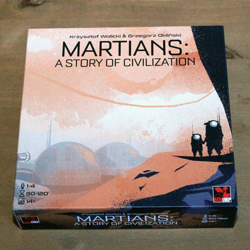 Test: The Martians – A Story of Civilization