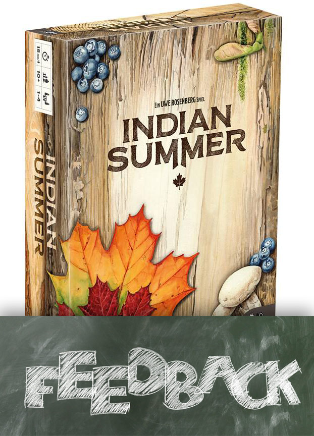 "Diskussion um Spieletitel ""Indian Summer"" von Uwe Rosenberg"