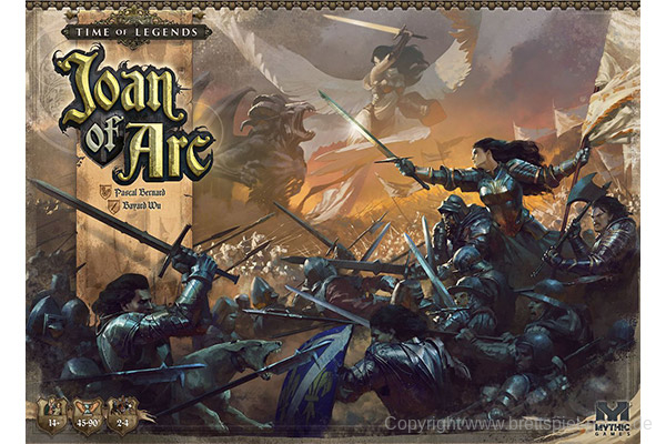 KICKSTARTER // TIME OF LEGENDS: Joan of Arc 1.5 gestartet