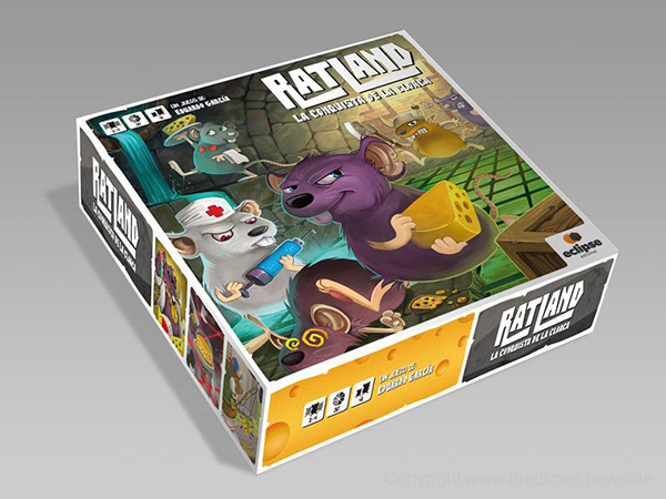 RAT LAND // deutsche Version bei TL Games erschienen