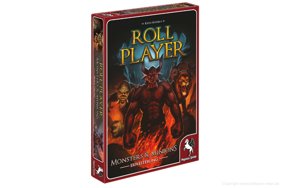ROLL PLAYER // Monsters & Minions Erweiterung