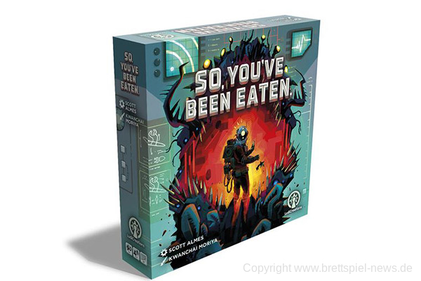SO, YOU'VE BEEN EATEN // Erscheint bei LudiCreations