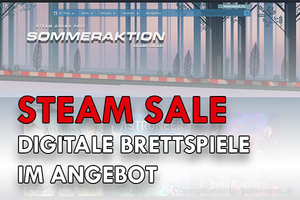 STEAM SALE // Digitale Brettspiele im Angebot