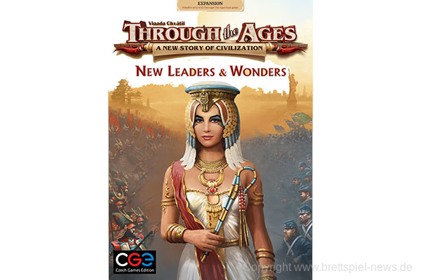 THROUG THE AGES // New Leaders & Wonders erscheint zur SPIEL'19