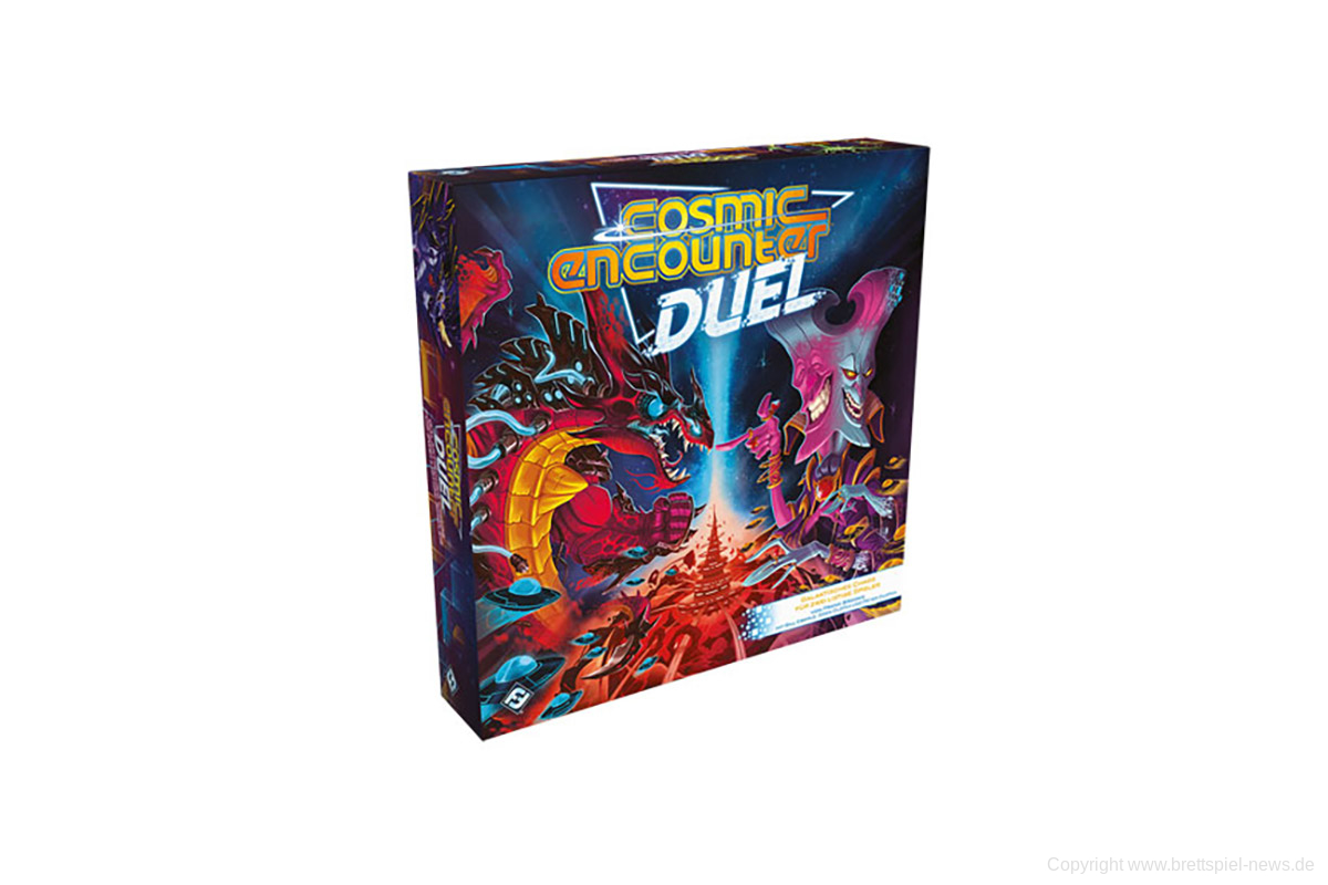 COSMIC ENCOUNTER DUEL // Auf dem Weg in den Handel