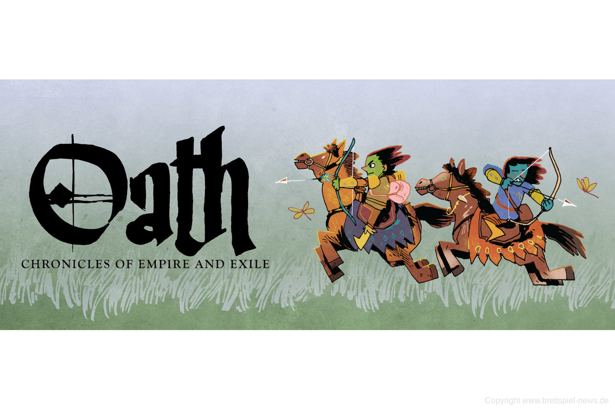 OATH: CHRONICLES OF EMPIRE AND EXILE // Neuheit von Leder Games