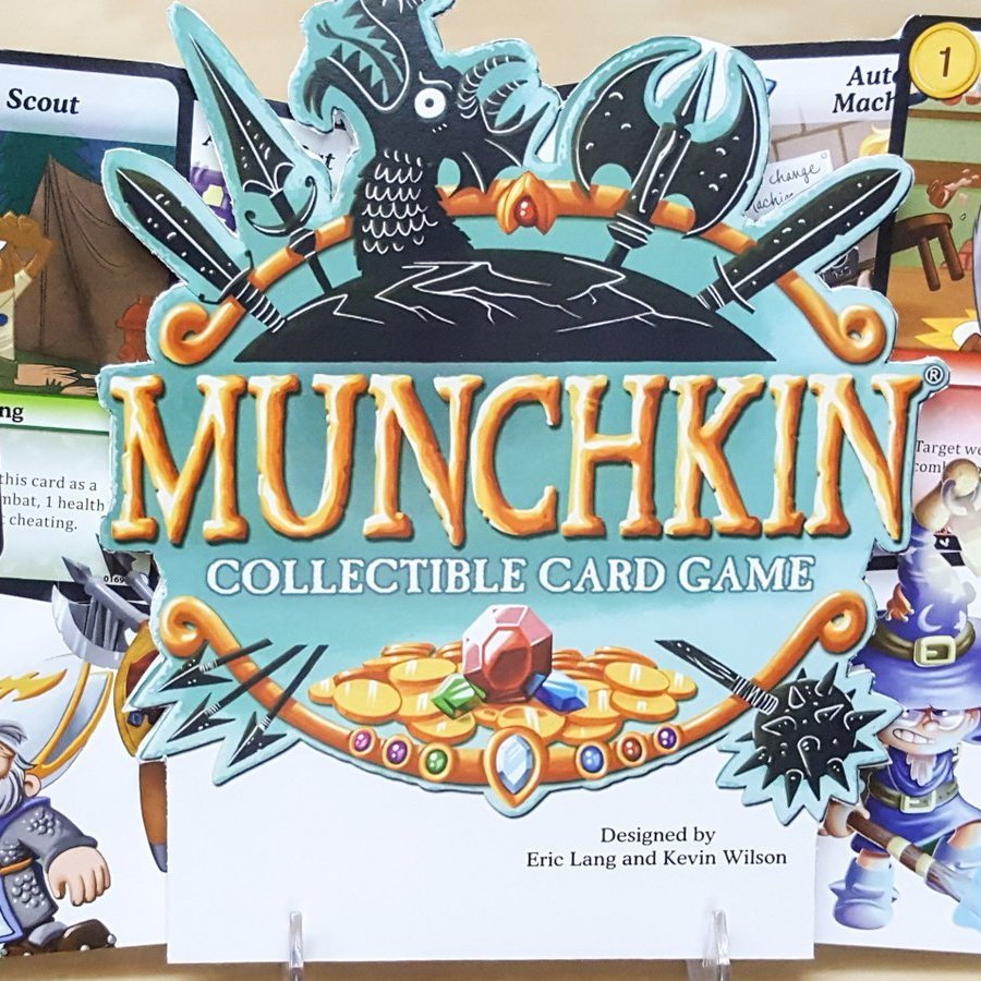 Pegasus Spiele: Munchkin Collectible Card Game angekündigt