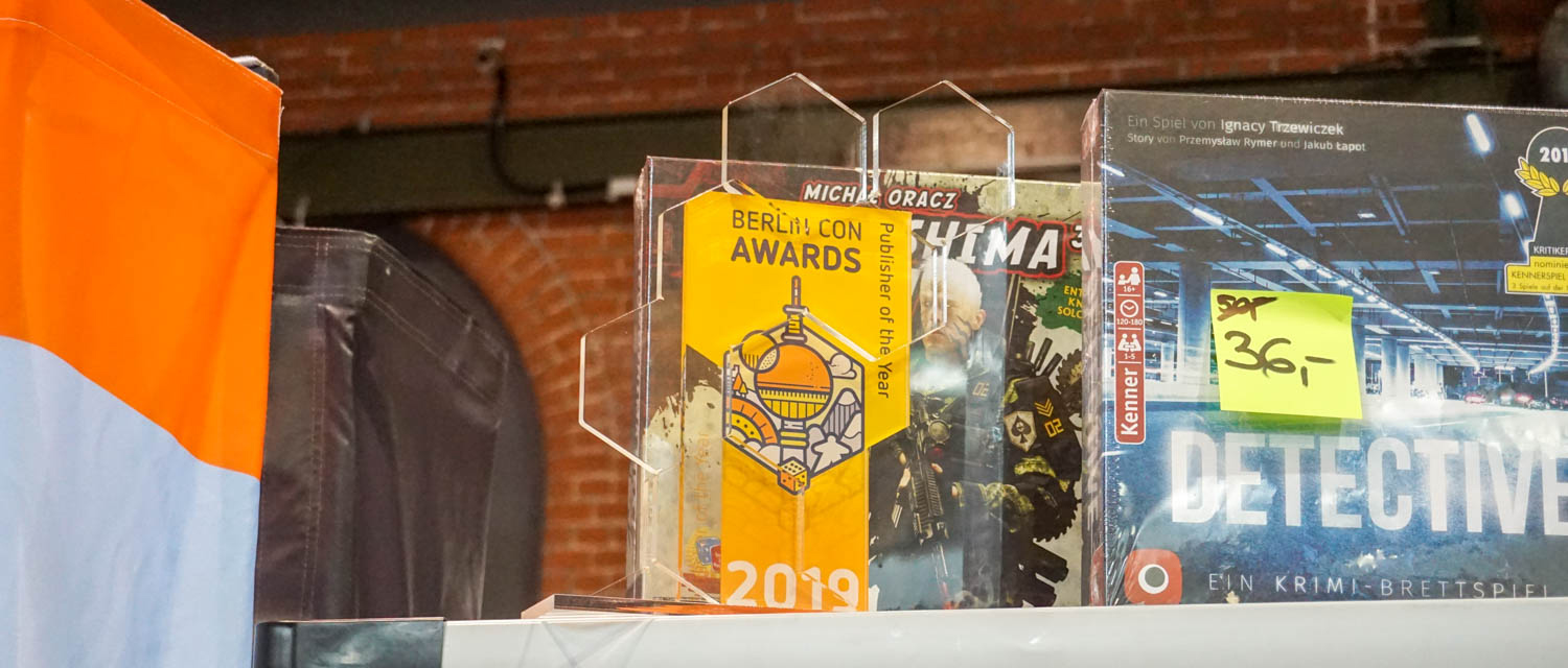 BerlinCon19 award