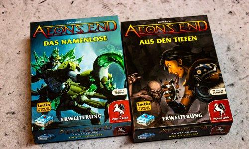 AEON'S END // ERWEITERUNGEN - Bilder beide Erweiterungen