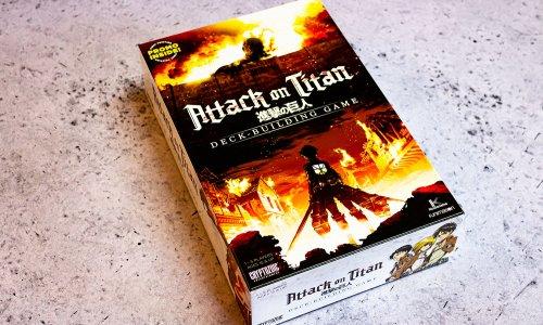 ATTACK ON TITAN: DECK-BUILDING GAME // Bilder vom Spiel