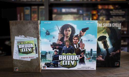 BROOK CITY // Erste Bilder vom Spielmaterial