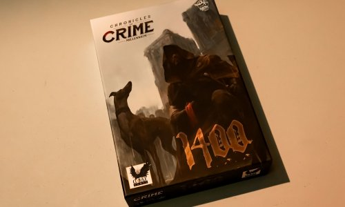 CHRONICLES OF CRIME: 1400 // Bilder vom Spielmaterial