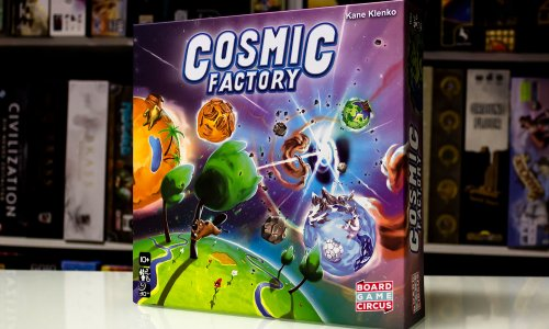 COSMIC FACTORY // Erste Bilder vom Spiel