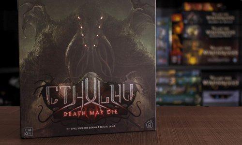 CTHULHU - DEATH MAY DIE // Bilder vom Spielmaterial