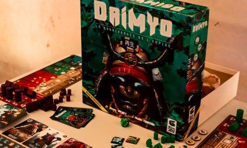 DAIMYO: REBIRTH OF THE EMPIRE // Bilder vom Prototyp