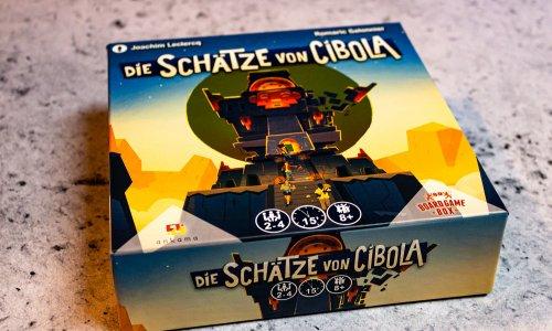 DIE SCHÄTZE VON CIBOLA // Bilder vom Spiel