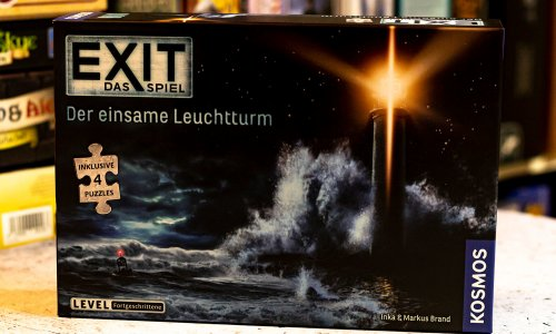 TEST // EXIT – Das Spiel + Puzzle – Der einsame Leuchtturm