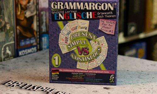 GRAMMARGON // englische Grammatik durch Kartenspiel lernen