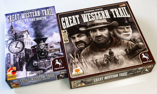 TEST // GREAT WESTERN TRAIL - RAILS TO THE NORTH
