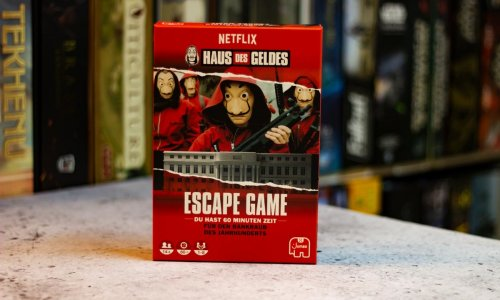TEST // HAUS DES GELDES - ESCAPE GAME