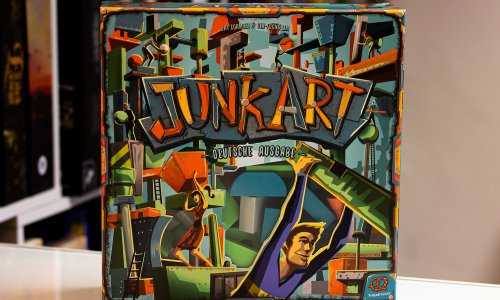 JUNK ART // Bilder vom Spiel