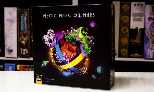 MAGIC MAZE ON MARS // Erste Bilder