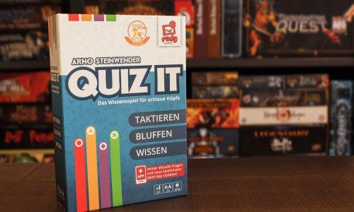 QUIZ IT // Bilder vom Spielmaterial