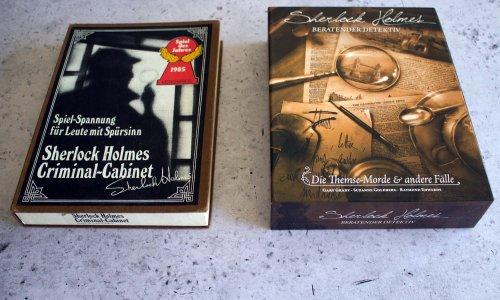 VERGLEICH // SHERLOCK HOLMES CRIMINAL-CABINET vs. SHERLOCK HOLMES BERATENDER DETEKTIV