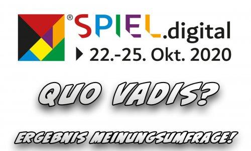 SPIEL.digital // Erwartungen an die SPIEL.digital