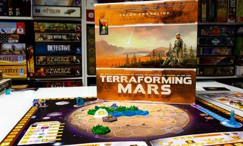 CUSTOM TILE SET FÜR TERRAFORMING MARS // Auf dem Tisch + neue Info