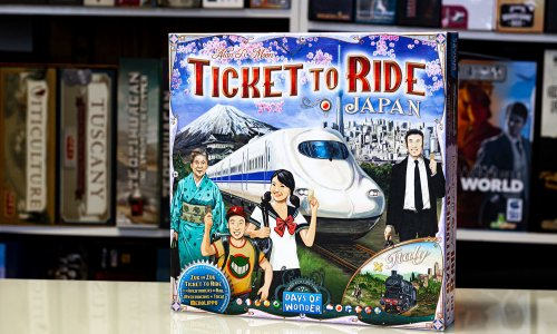 TICKET TO RIDE // Bilder der Japan/Italien-Erweiterung