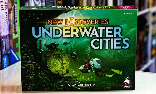 UNDERWATER CITIES: NEW DISCOVERIES // Bilder der Erweiterung