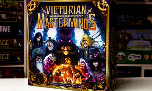 VICTORIAN MASTERMINDS // Erste Bilder vom Spielmaterial