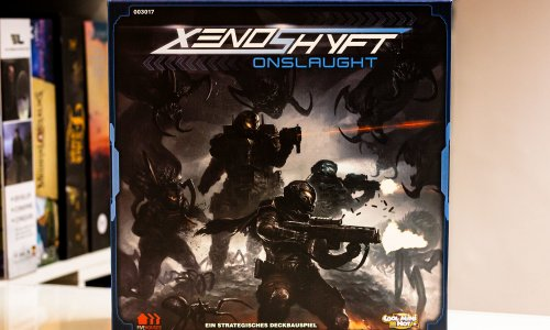 TEST // XENOSHYFT: ONSLAUGHT