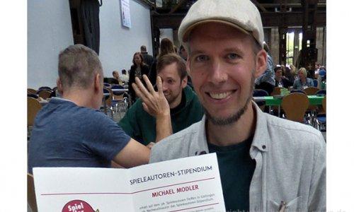 AUTOREN STIPENDIUM // Michael Modler hat gewonnen