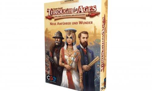 THROUGH THE AGES // Neue Anführer und Wunder erscheint im April 2020