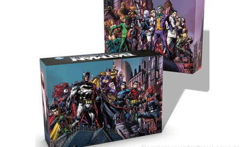 BATMAN: GOTHAM CITY CHRONICLES // Unboxing vom Kickstarter Spiel