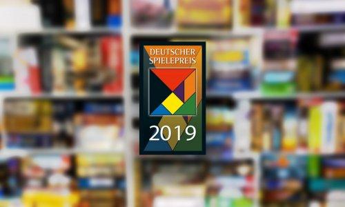 DEUTSCHER SPIELEPREIS 2019 // Die Abstimmung ist gestartet