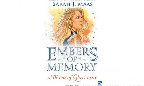 EMBERS OF MEMORY: A THRONE OF GLASS // Kooperatives Spiel für zwei