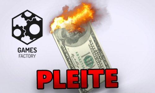 KICKSTARTER // Games Factory Pleite