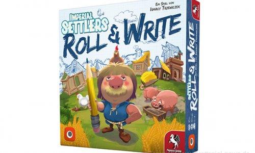 IMPERIAL SETTLERS: ROLL & WRITE // Auf der BerlinCon verfügbar